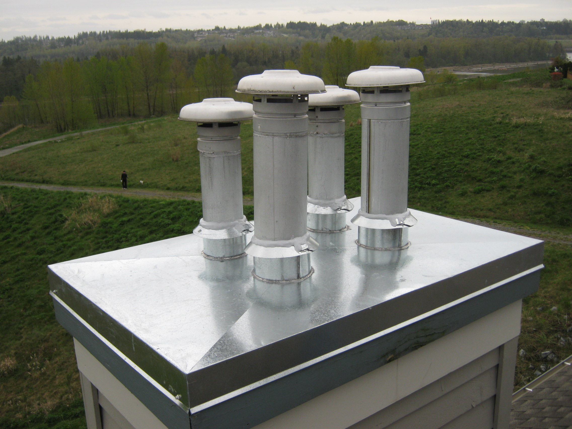 Chimney Caps Chase Covers