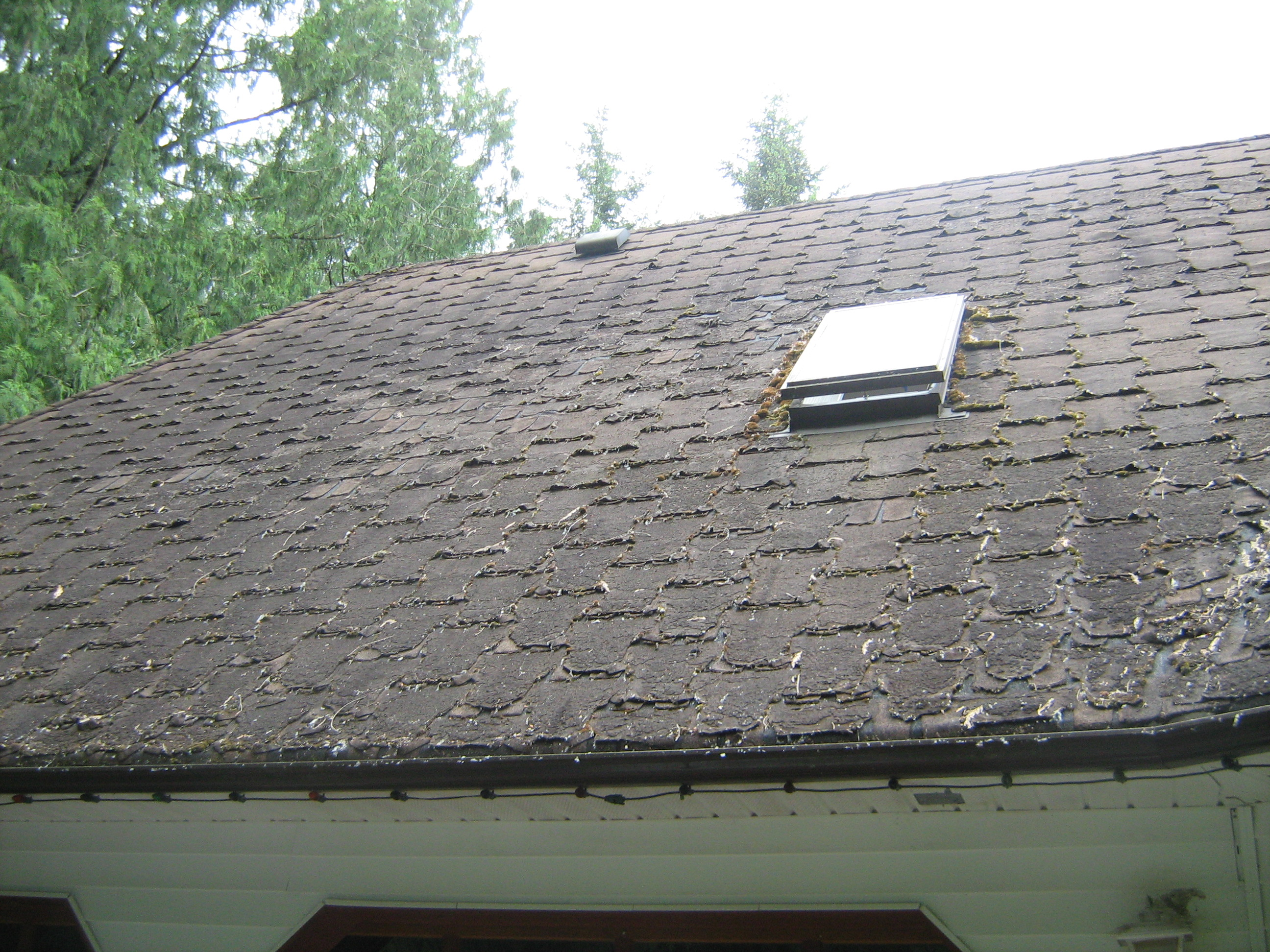 Asphalt shingles for Roofing tar on shingles